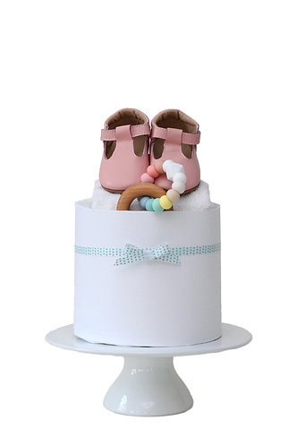 Pastel Perfection Single Tier Nappy Cake