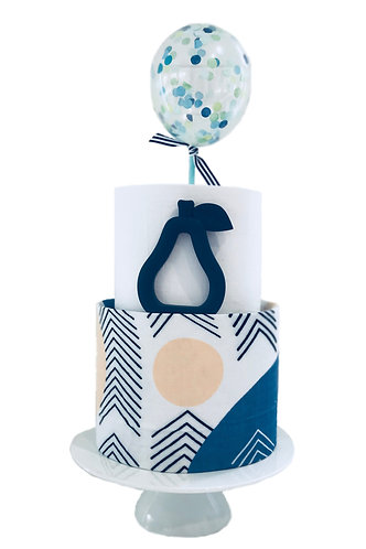 Two Tier Nappy Cake