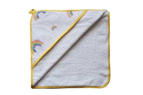 Rainbow Hooded Towel