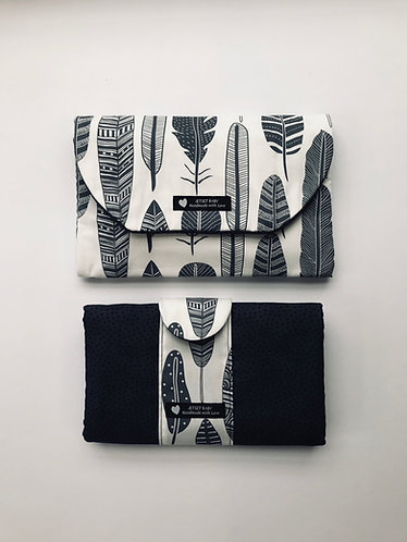 Nappy Wallet & Change Mat Clutch Set
