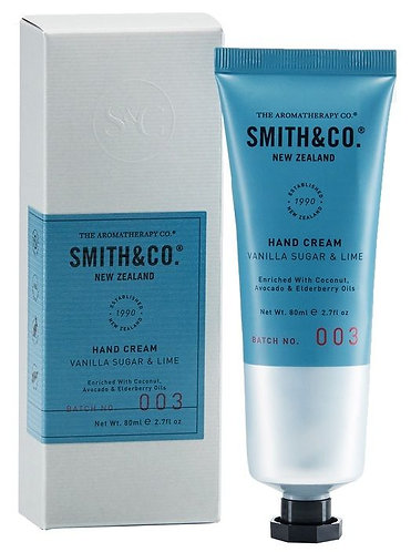 Smith & Co Hand Cream Vanilla Sugar & Lime