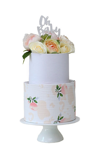 Nappy Cake Two Tier