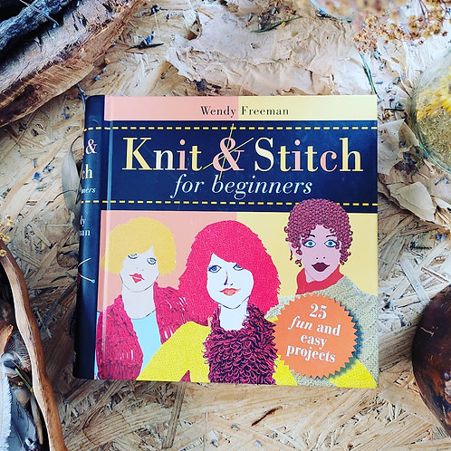 Knit & Stitch for Beginners - Second Hand