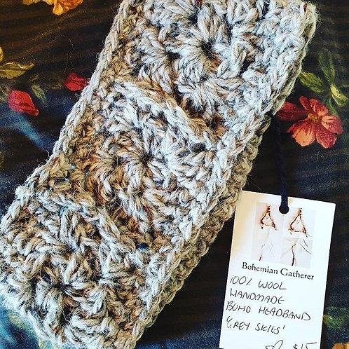 Boho Crochet Headband