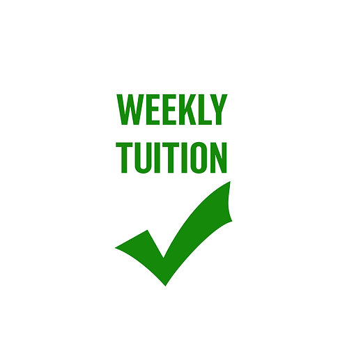 Weekly Tuition