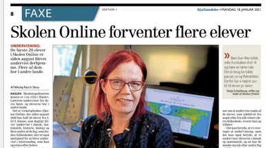 Skolen Online forventer flere elever