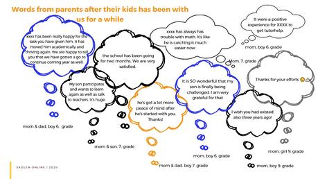 Ord fra elever og forældre