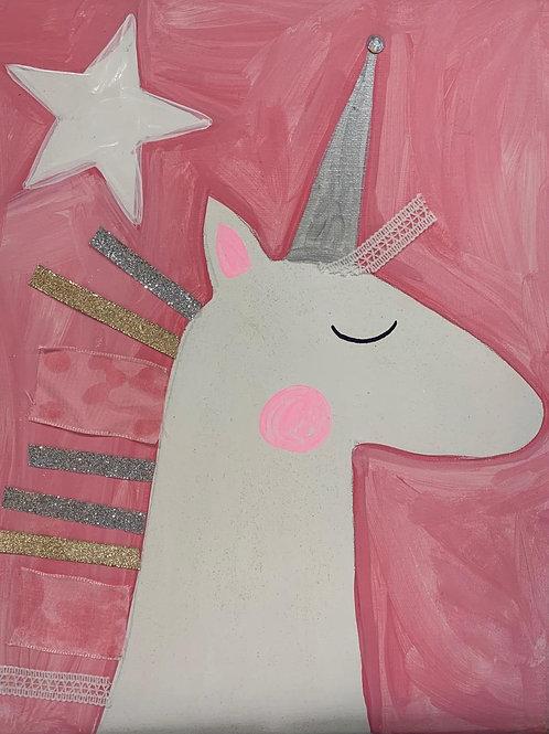 Unicorn DIY Canvas Kit