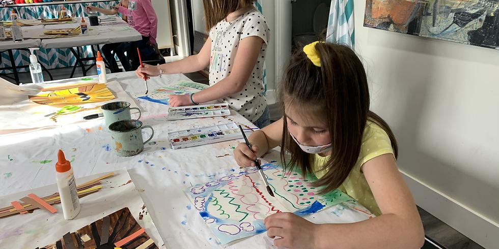 Pre-K/Kinder Art Class Ages 5-6