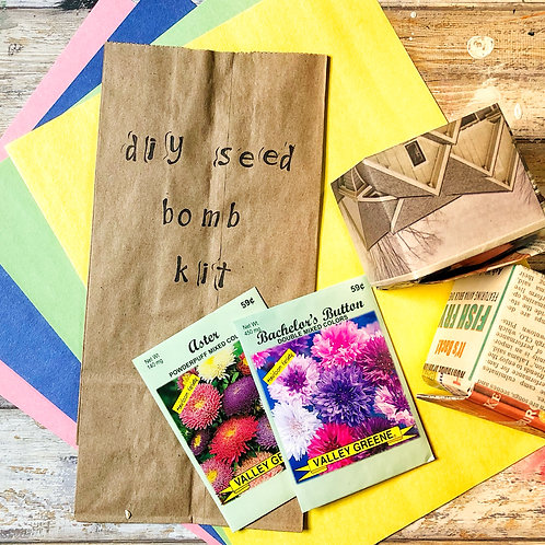 DIY Seed Bomb Kit