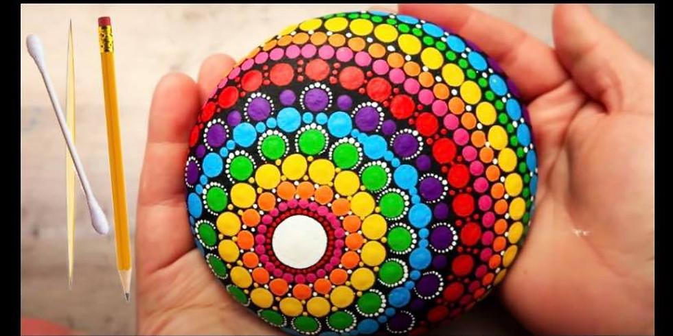 Wellness Wednesday: Rock Mandala Painting
