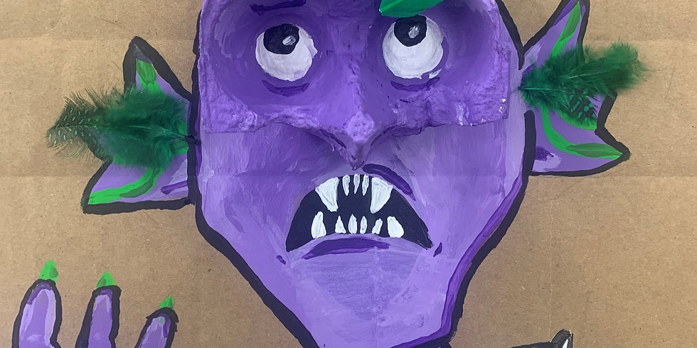 Cardboard Creature Creation : Ages 10+
