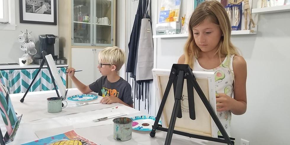 Adventures in Art: Ages 6-9
