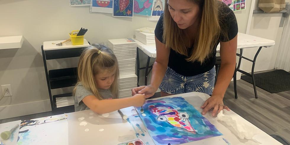 Preschool Art Class: Ages 3-5