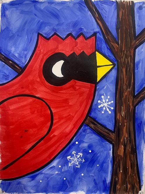 Winter Cardinal DIY Kit