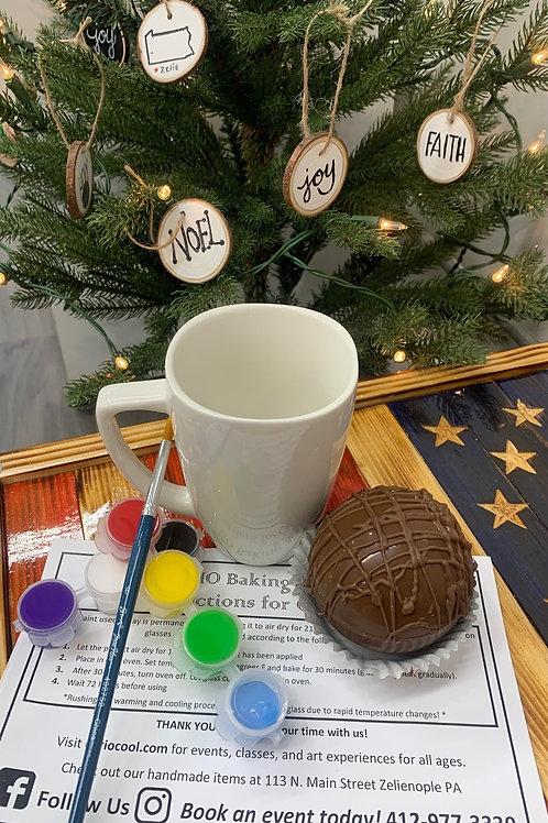 Mug DIY Kit and Cocoa Bomb