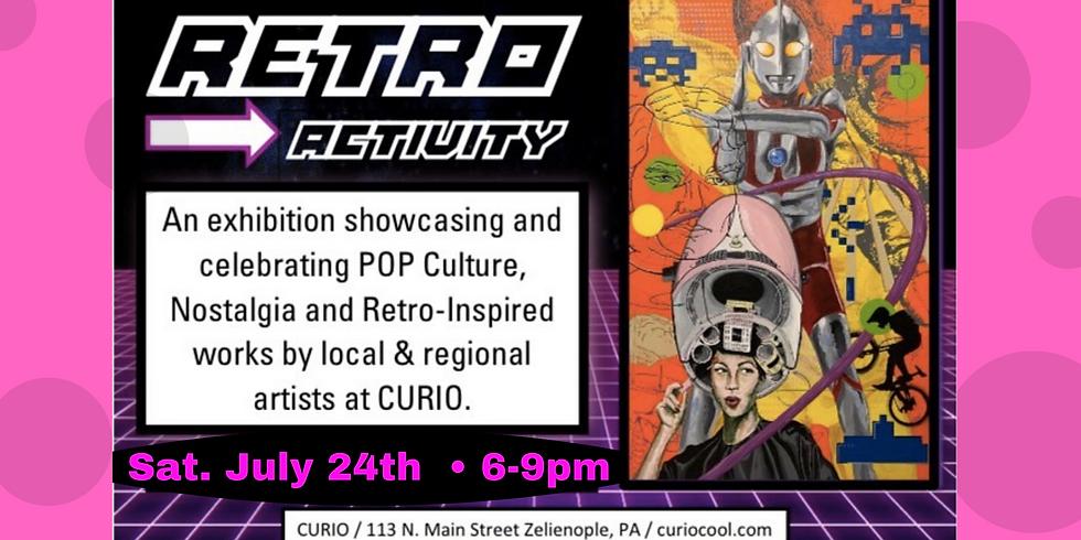 Retro Activity Art Show