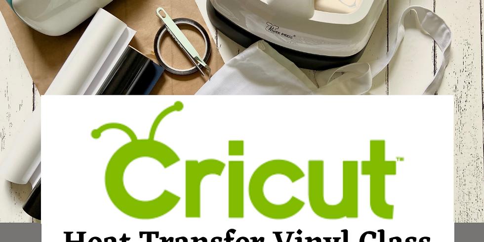 Cricut Class: Heat Transfer Vinyl