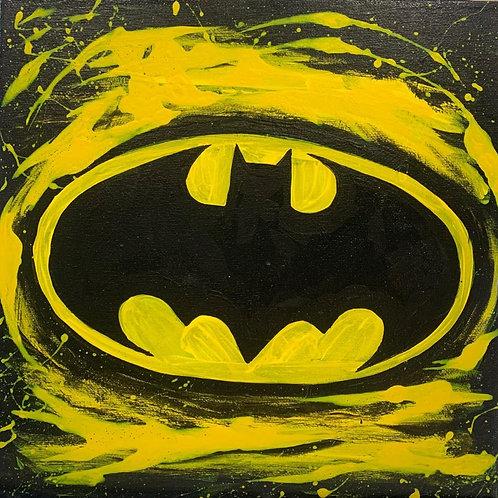 Bat Symbol Canvas DIY Kit