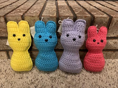 "Crochet ""Peep"" Bunnies"