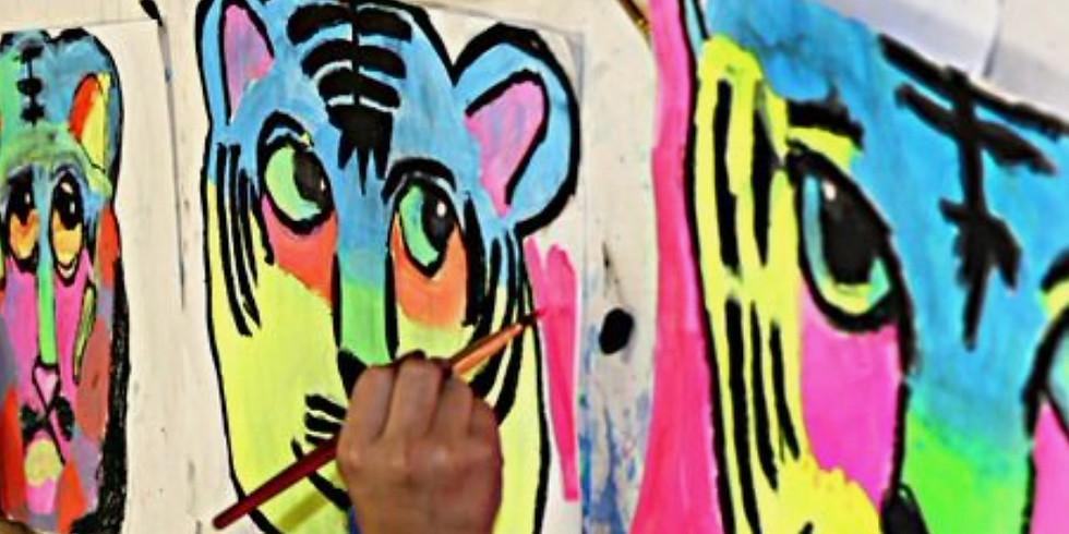 Black Light Tiger: Ages 7+