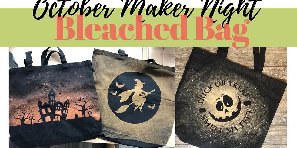 Maker Night: Bleached Bag