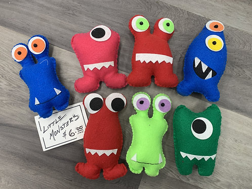 Little Felt Monsters