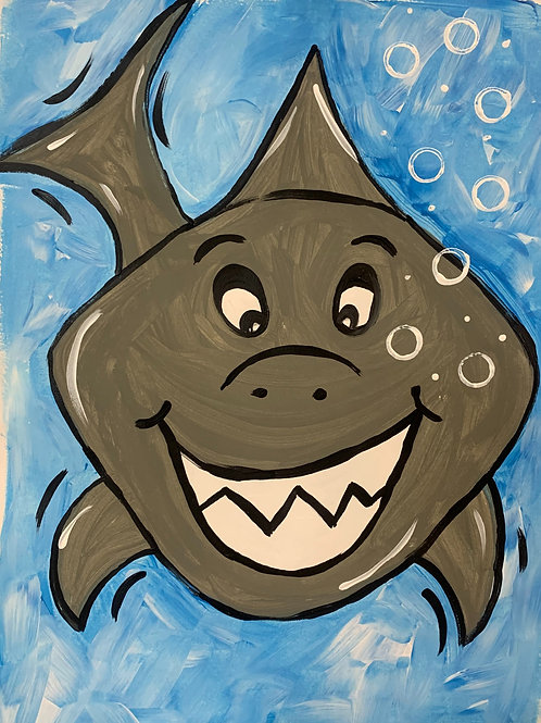 Smiling Shark DIY KIT