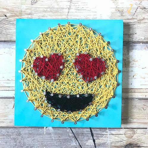 DIY Emoji String Art Kit