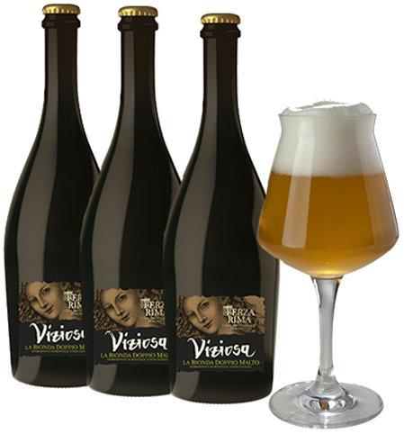 VIZIOSA BIRRA BIONDA DOPPIO MALTO (VIZIOSA Double Malt Blond Beer)
