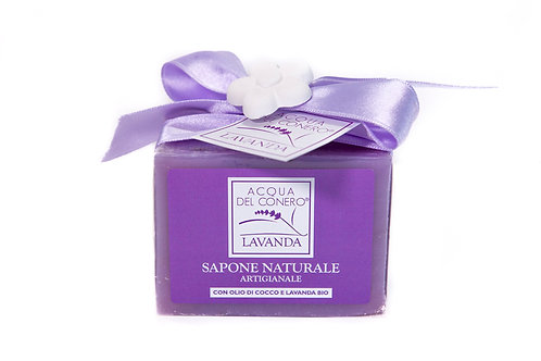 SAPONE NATURALE LAVANDA (Natural Lavender soap)