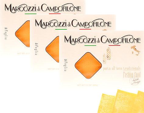 pasta sfoglia artigianale per lasagne e cannelloni