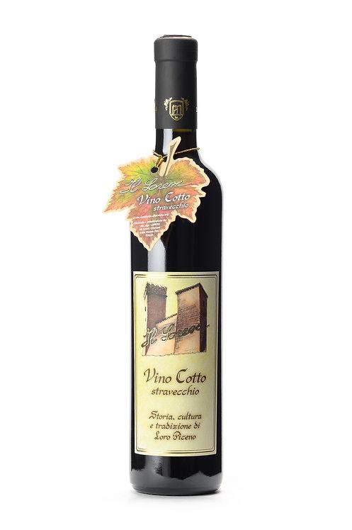VINO COTTO STRAVECCHIO IN BOTTIGLIA ( Vino Cotto stravecchio in the bottle)