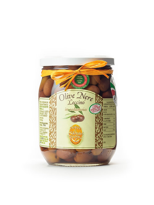 OLIVE NERE LECCINO (Black Olives Leccino)
