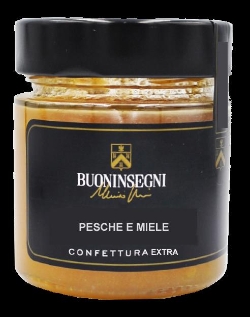 CONFETTURA EXTRA DI PESCHE E MIELE (Jam of peaches and oney)