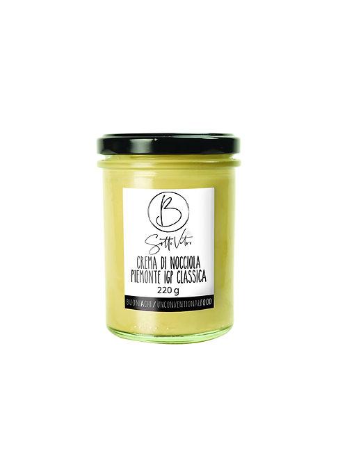 CREMA CLASSICA DI NOCCIOLE 220 gr (Classic Hazelnuts Cream 220  gr)