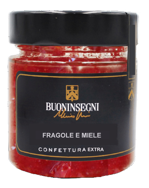 CONFETTURA EXTRA DI FRAGOLE E MIELE(Jam of Strawberries and oney)