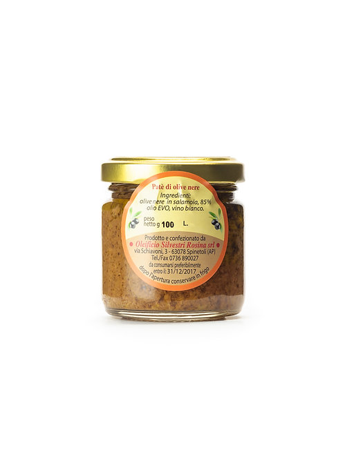 PATE' DI OLIVE (Olives Paste)