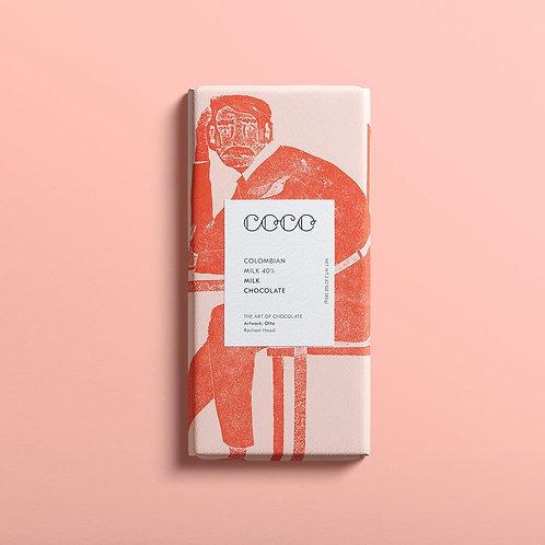 Columbian Milk Chocolate Bar 80g