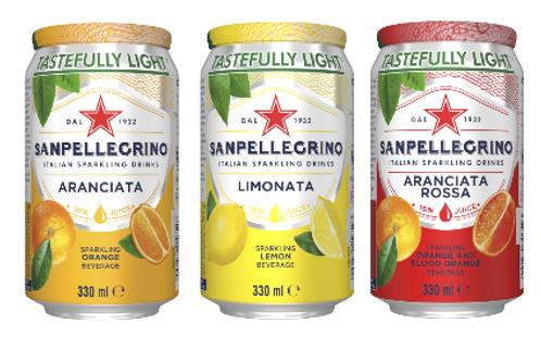 SANPELLEGRINO Cans