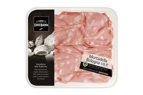 Mortadella Bologna IGP Sliced Cortebuona 150g
