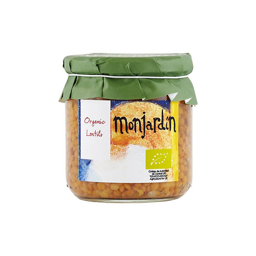 Monjardin Organic Lentils 325g