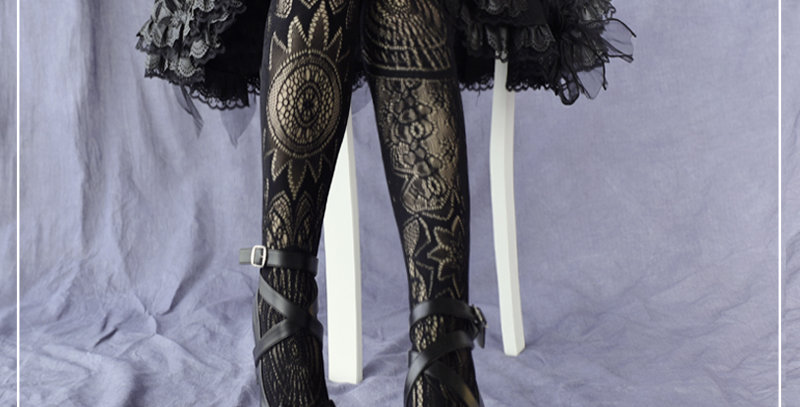 Gothic Lace Tights