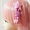 Thumbnail: Pastel Fuzzy Shooting Star Dangle Hair clips