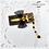 Thumbnail: Gold Scissors Ribbon Hairclip