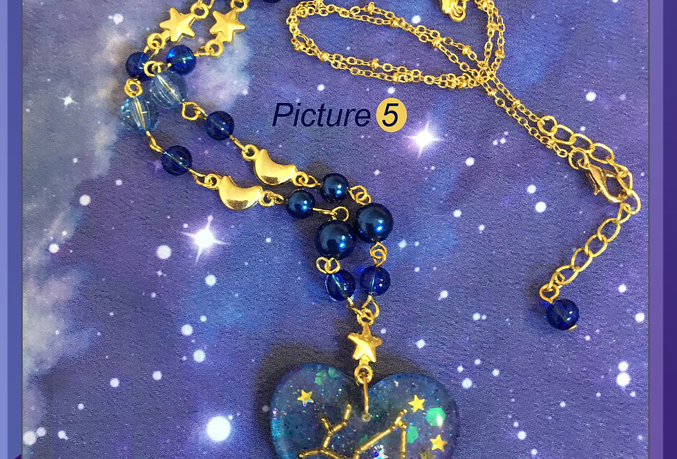 Starry Galaxy Necklace