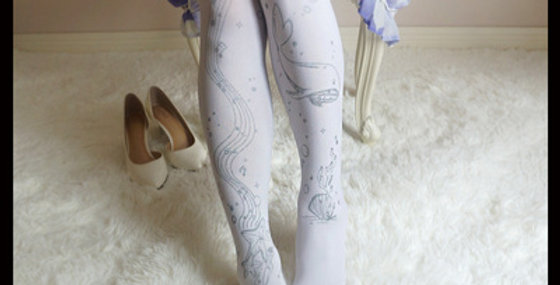 Marine Whale Tights