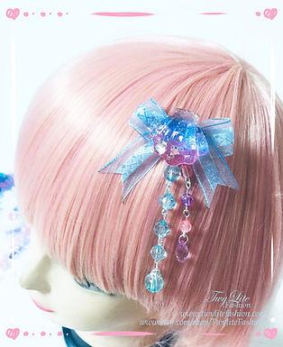 Pastel Ocean Themed Hairclips - Seashells, Sea Stars, Dolphins Hair clip