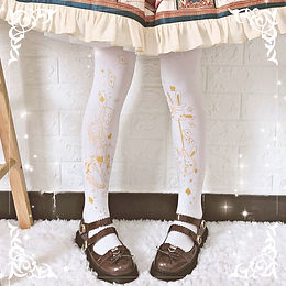Alice & Clock Tights