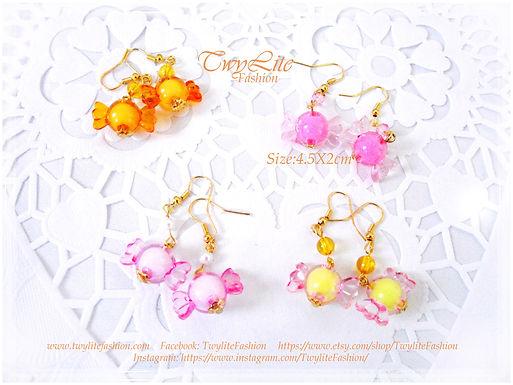 Kawaii Candy Earrings